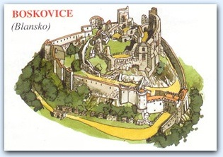 Замок Босковице (Boskvice)