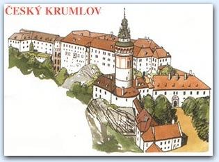 Замок Чешский Крумлов (Cesky Krumlov)