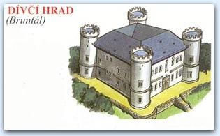 Замок Дивчи Град (Divci Hrad)