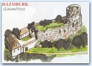 Замок Газмбурк (Hazmburk)