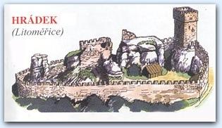 Замок Гельфенбурк (Helfenburk (Hrádek) u Úštěka)
