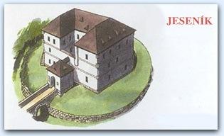 Водная крепость Есеник (Jesenik)