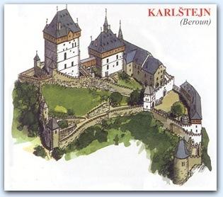 Замок Карлштейн (Karlstejn)