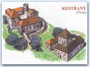 Замок Кестржаны (Tvrz Kestřany)