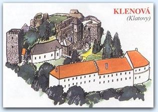 Замок Кленова (Klenova)