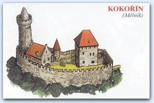 Замок Кокоржин (Kokorin)