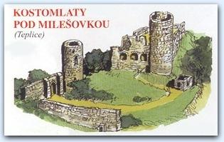 Замок Костомлаты (Kostomlaty pod Milsovkou)