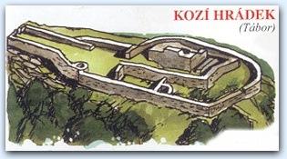 Замок Кози Градек  (Kozi Hradek)