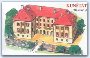 Замок Кунштат (Kunstat)