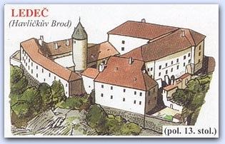 Замок Ледеч (Ledec)