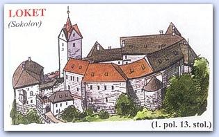 Замок Локет (Loket)