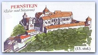 Замок Пернштейн (Pernstejn)