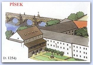 Замок Пи́сек (Pisek)
