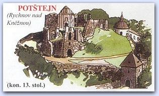 Замок Потштейн (Potstejn)
