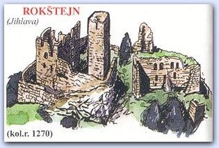 Замок Рокштейн (Rokstejn)