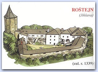 Замок Роштейн (Rostejn)