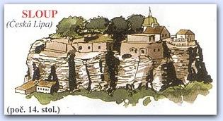 Замок Слоуп (Sloup)