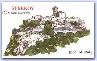Замок Стржеков (Strekov)