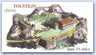 Замок Толштейн (Tolstejn)