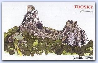 Замок Троски (Trosky)