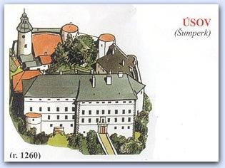 Замок Усов (Usov)
