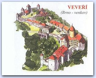 Замок Вевержи (Veveri)