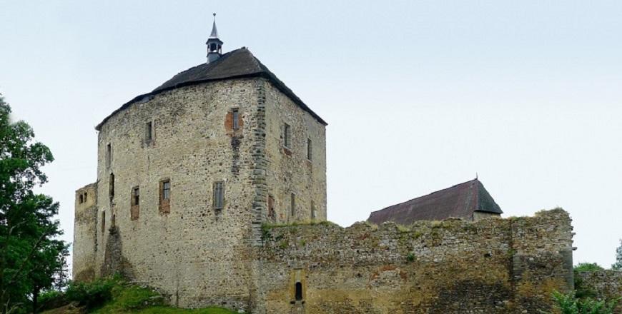КрепостьТочник и Жебрак / Točník a Žebrák – по стопам короля Карла IV