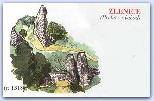 Замок Зленице (Zlenice)