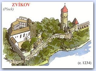 Замок Звиков (Zvikov)