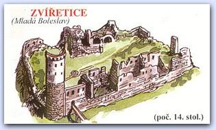 Замок Звиржетице (Zviretice)