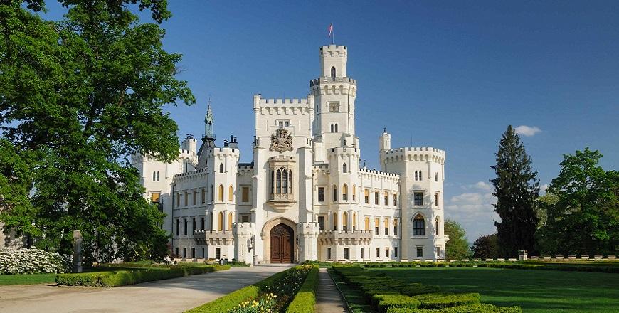 Замок Леднице / Lednice