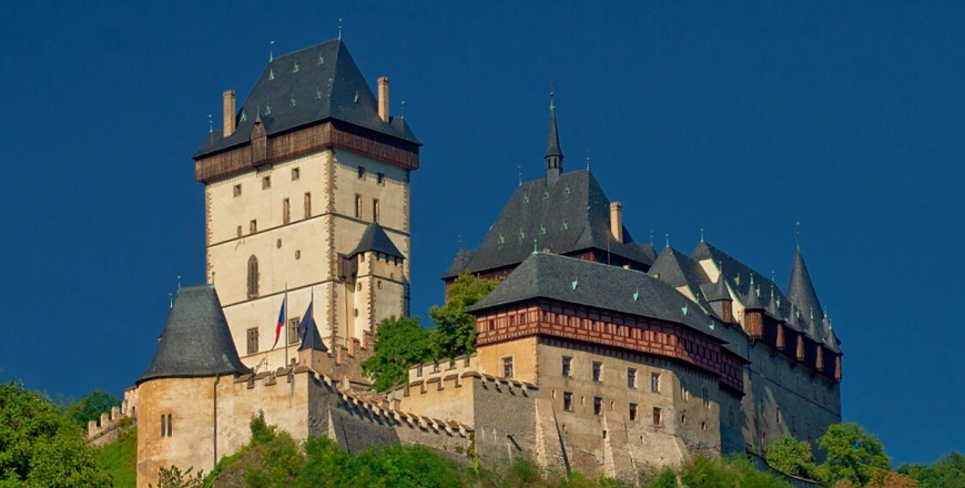 Замок Карлштейн / Karlstejn