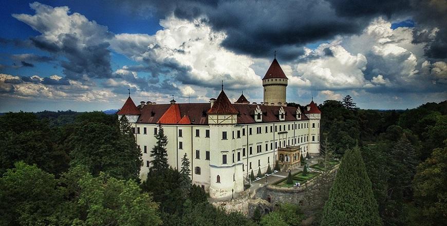 Замок Конопиште (Konopiste).