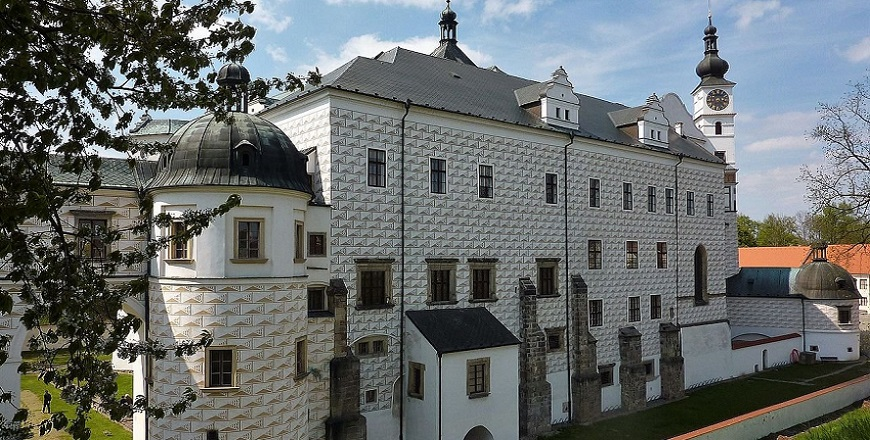 Замок Пардубице (Pardubice).