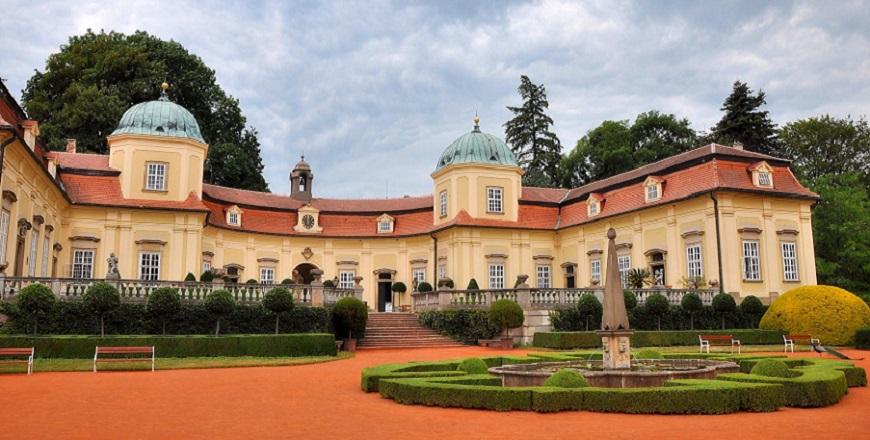 Замок Бухловице (Buchlovice).